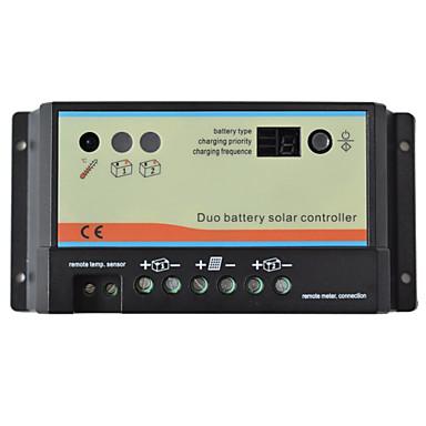 epsolar podwójny kontroler ładowania baterii słonecznej 12V ładowarka akumulatora 24v duo-db-10a