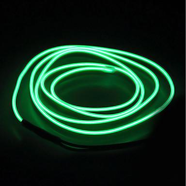 BRELONG® 5m Leuchtgirlanden 0 LEDs EL Weiß / Rot / Blau Wasserfest / Selbstklebend 1pc
