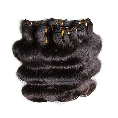 Włosy brazylijskie Body wave Włosy naturalne Fale w naturalnym kolorze Ludzkie włosy wyplata Ludzkich włosów rozszerzeniach