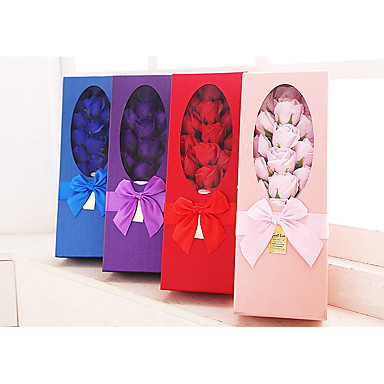 Kwiat Mix Favor Holder z Gift Boxes - 1