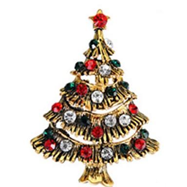 Święto Biżuteria świąteczna Golden Chrom Akcesoria do cosplay Boże Narodzenie