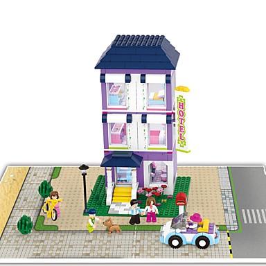 Sluban Klocki Alice in Wonderland Zamek Motyw Garden Architektura Dla dziewczynek Zabawki Prezent