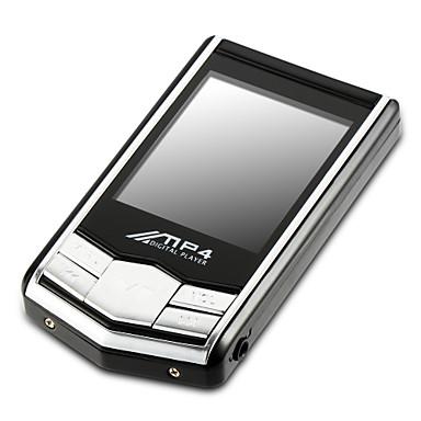 kannettava 8GB 4G hoikka mp3 mp4-soitin, jossa 1,8