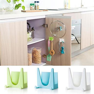 1szt Uchwyty Naczyniaków Pot Plastik Łatwy w użyciu Organizacja kuchni