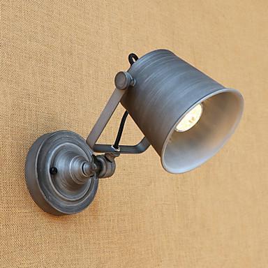 Muślin / Wiejski / Retro / Vintage Lampy ścienne Metal Światło ścienne 110-120V / 220-240V 40W