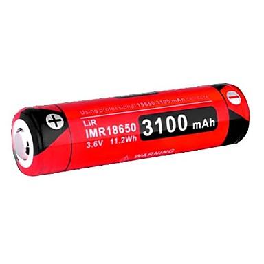 KLARUS 18GT-IMR31 Batterie Tragbar Professionell Einfach zu tragen Gute Qualität Leichtes Gewicht für 18650 Li-ion