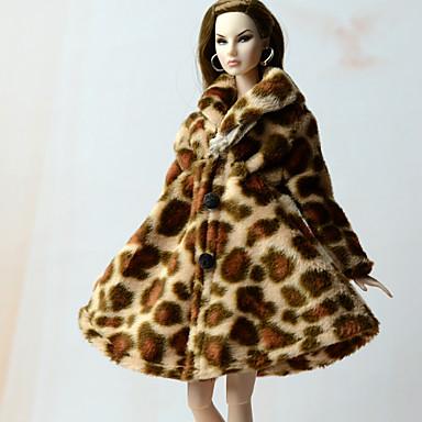Fritid Mer Tilbehør Til Barbiedukke Polar Fleece Topp Til Jentas Dukke