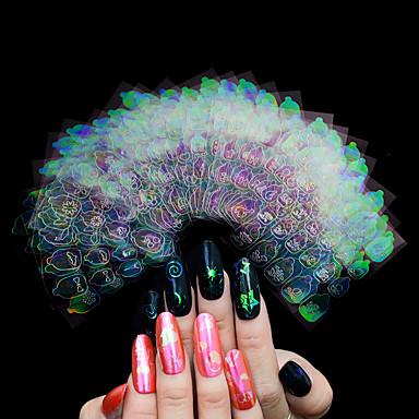 Nail Art Samoprzylepna Naklejki Naklejka Kosmetyki do makijażu Nail Art Design