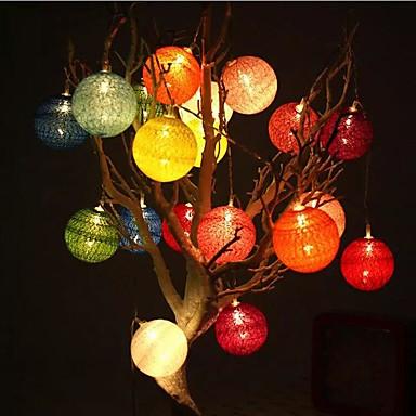 20 führte 2m Sternlicht wasserdichten Stecker Feiertagsdekorationslicht im Freien geführtes Schnurlicht