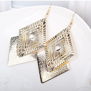 Damen Tropfen-Ohrringe Retro Elegant Aleación Geometrische Form Schmuck Für Party Formal