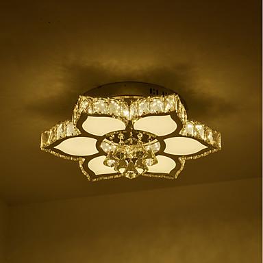 Podtynkowy Światło rozproszone Galwanizowany Kryształ Kryształ 110-120V / 220-240V Ciepła biel + biały Źródło światła LED w zestawie / LED zintegrowany