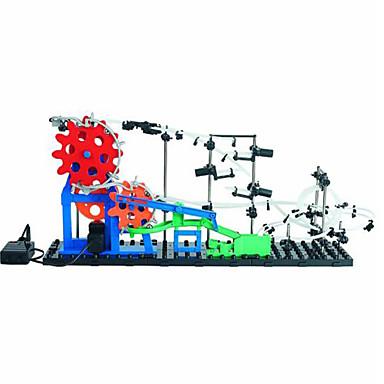 Spacerail 232-2 5600MM Vágány vasúti kocsi Pálya készletek Marble Track Sets Golyópálya Erector szett Épület készlet Coaster Toys