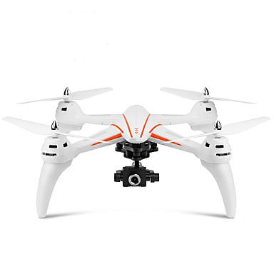 RC Drón WLtoys Q696-D 4 Csatorna 2,4 G HD kamerával 5.0MP 1080P RC quadcopter LED fények / Headless Mode / 360 Fokos Forgás RC Quadcopter / Távirányító / Fényképezőgép / Lebeg / CE / Lebeg