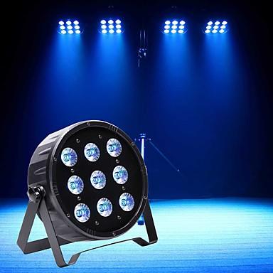 U'King Oświetlenie LED sceniczne Żarówki LED Par DMX 512 Master-Slave Aktywowana Dźwiękiem Auto Pilot zdalnego sterowania 120 na Klub