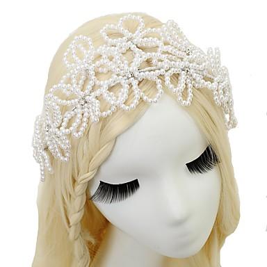 imitacja perełek opaski 1szt. Headpiece klasyczny kobiecy styl