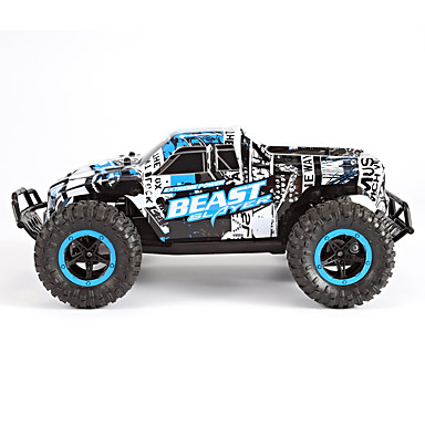 RC samochodów SYMA MM2611 4 kanałowy 2,4G Off Road Car 1:16 Brush Electric 20 KM / H