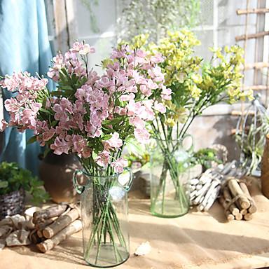 5 Gałąź Others Majątek dotykowy Storczyki Bukiety na stół Sztuczne Kwiaty