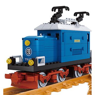AUSINI Klocki 724pcs Tren DIY Pojazdy Pociąg Dźwig Dla chłopców Zabawki Prezent