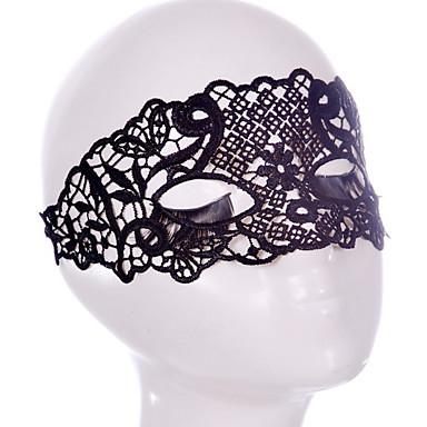 Maski na Halloween Rekwizyty na Halloween Akcesoria na Halloween Maki na bal maskowy Seksowna maska z koronką Nakrycia głowy Motyw Garden