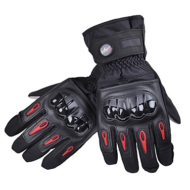 PRO-BIKER Sportowe Full Finger Dla obu płci Rękawice motocyklowe Jazda na rowerze Keep Warm Anti-Slip Rain-Proof Zdatny do noszenia