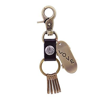 Łańcuszek do kluczy Biżuteria Gold Nieregularny Skórzany Stop Na co dzień Nowoczesne Prezent Wyjściowe Męskie Damskie