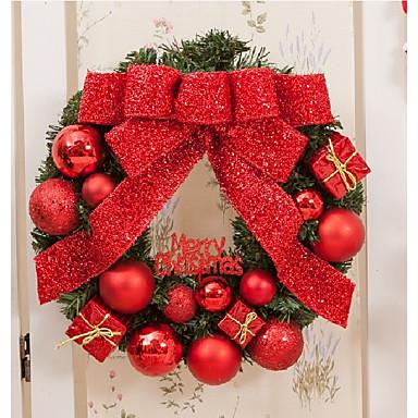 1szt Święta Bożego Narodzenia Ozdoby świąteczne, Dekoracje świąteczne 30*30