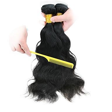2 zestawy Włosy malezyjskie Naturalne fale Włosy naturalne remy Fale w naturalnym kolorze Ludzkie włosy wyplata Słodkie Ludzkich włosów rozszerzeniach