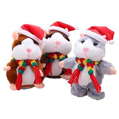 voordelige Knuffels & Pluche dieren-Talking Hamster Muis / Hamster Knuffels & Pluche dieren Schattig / Kinderen / Geluiden Geschenk