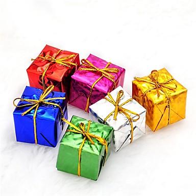 Prezenty bożonarodzeniowe Artykuły na przyjęcie bożonarodzeniowe Zabawki Square Shape Święto Święty Mikołaj Dla dzieci Dla dorosłych 6