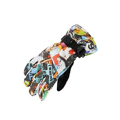 Rękawice narciarskie Dla dzieci Keep Warm Wodoodporny Wodoodporny materiał Narciarstwo Piesze wycieczki Rower Zima