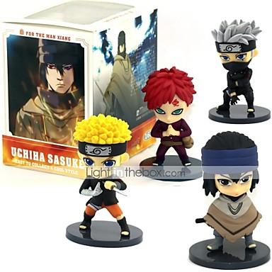 Rysunki Anime akcji Zainspirowany przez Naruto Sasuke Uchiha PVC CM Klocki Lalka Zabawka