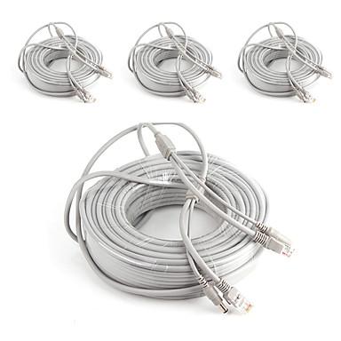 Kable 4PCS 132ft RJ45 Video Network Cable DC Power Camera Extension na Bezpieczeństwo systemy 4000 cm cm 3.3 kg kg