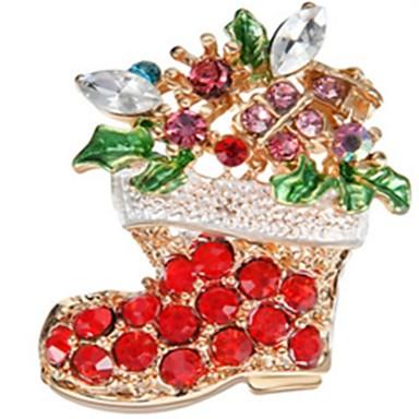 Święto Biżuteria świąteczna Czerwony Chrom Akcesoria do cosplay Boże Narodzenie