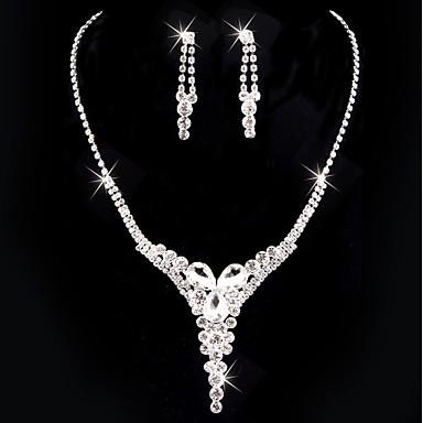 Damskie Biżuteria Ustaw Zestawy biżuterii - Posrebrzany Silver