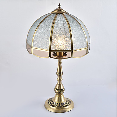 Tradycyjny / Classic Styl MIni Lampa stołowa Na Metal 110-120V / 220-240V Złoty