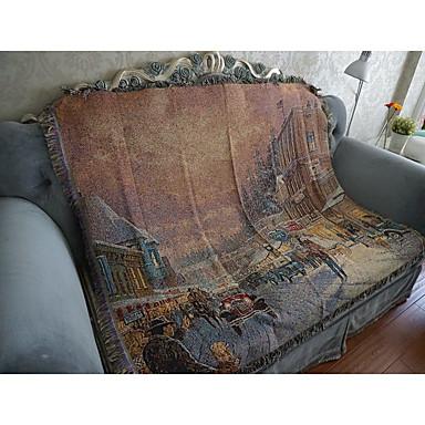Super Soft,Yarn-dyed Pattern Cotton/Polyester Blankets