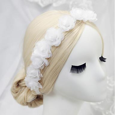 opaski szyfonowe 1szt. headpiece wedding party w eleganckim, kobiecym stylu