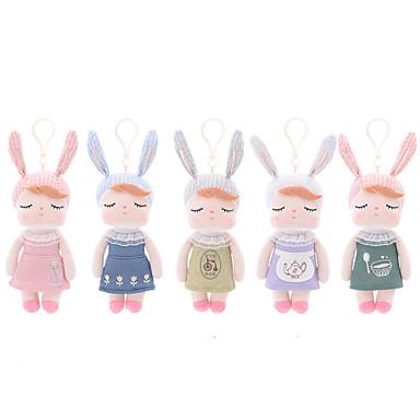 46943804b 18cm Rabbit Animales de peluche y de felpa Bonito Para Niños Suave  Tradicional / Retro Retro / Vintage Vintage Chica Juguet Regalo 1 pcs /  Segura para Niños ...