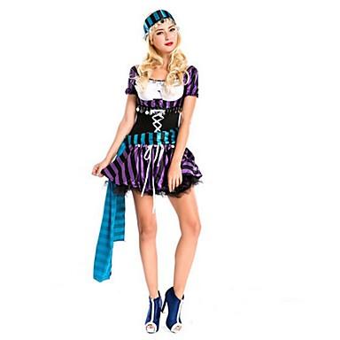 Zigeuner Austattungen Frau Halloween Weihnachten Fest / Feiertage Halloween Kostüme Violett