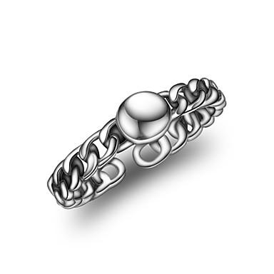 Damskie mankiet Pierścień - Srebrny Koreański, Modny Regulacja Silver Na Codzienny