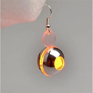 levne Světelné šperky-Dámské Visací náušnice dámy Módní Svítící Náušnice Šperky Fialová / Žlutá Pro Plesová maškaráda Bar 1
