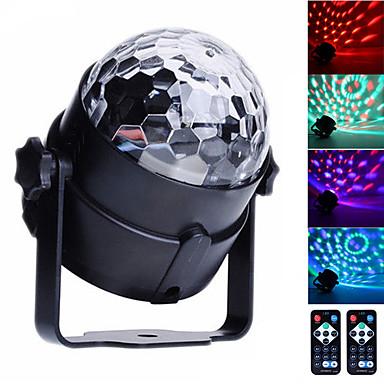 U'King Oświetlenie LED sceniczne Aktywacja dźwiękiem / Pilot / Aktywacja muzyką 6 W na Do domu / Na zewnątrz / Impreza Przenośny