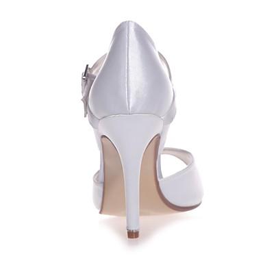 Chaussures Ivoire Chaussures Basique Satin Escarpin Eté Champagne Aiguille Boucle Bout 06418592 Printemps Talon de ouvert mariage Femme Bleu qndpwgq