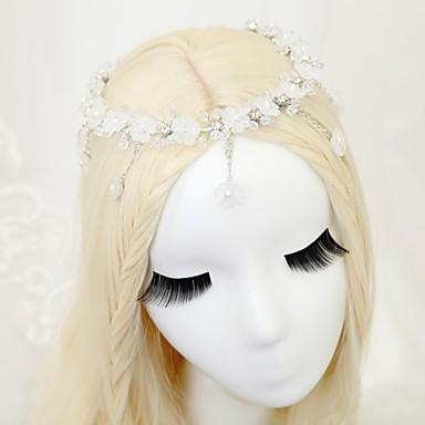 Kryształ Kryształ górski Opaski na głowę 1szt Ślub Specjalne okazje Winieta