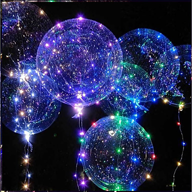 voordelige Ballonnen-LED-verlichting / LED-ballonnen Vakantie / Verjaardag Glow in the dark / Nieuw Design Kinderen / Volwassenen Geschenk 1 pcs