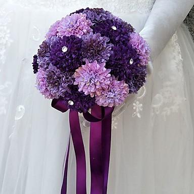 Kwiaty ślubne Bukiety Ślub / Specjalne okazje Inny materiał / Poliester 8,66