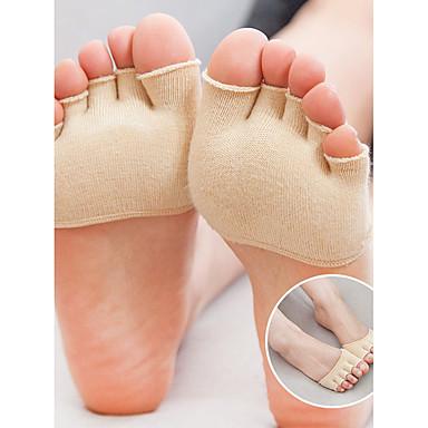 abordables Accessoires pour Chaussures-orthèses Semelle Intérieures Gel Avant du Pied Printemps Hiver Blanc Noir Beige