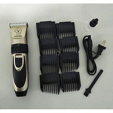 Chat Chien Toilettage Tondeuses Mini Portable Rechargeable réglable flexible Noir