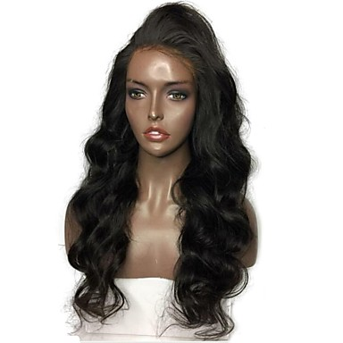 Human Hair Glueless Lace Front Lace Front Wig Brazilian Hair Body