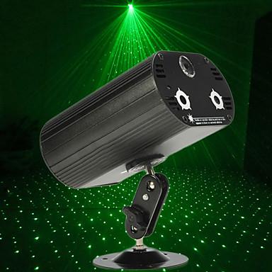 U'King Światło sceniczne laserowe DMX 512 Master-Slave Aktywowana Dźwiękiem Pilot zdalnego sterowania 9 na Klub Ślub Scena Impreza Obuwie